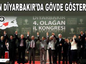 ERDOĞAN DİYARBAKIR'DA GÖVDE GÖSTERİSİ YAPTI - VİDEO
