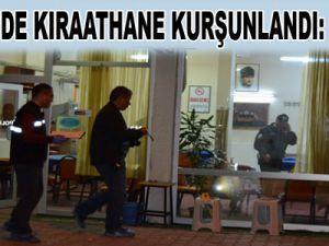 KAYSERİ'DE KIRAATHANE KURŞUNLANDI: 4 YARALI