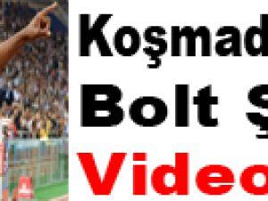 Usain Bolt, Roma'da Böyle Uçtu - Video