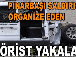 Pınarbaşı Saldırısını Organize Eden Terörist Yakalandı