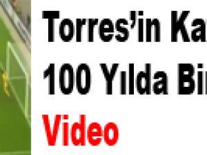 Fernando Torres'ten Kore'ye ilginç kafa golü  - Video
