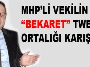 MHP'li vekil Lütfü Türkkan'ın bekaret tweet'i ortalığı karıştırdı