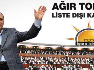 AK Parti'de liste dışında kalacak isimler