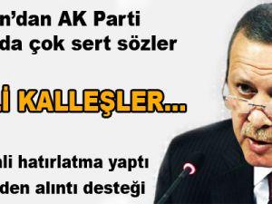 Erdoğan'dan Uludere çıkışı: Kalleş BDP'liler