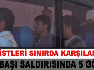 Pınarbaşı Saldırısında 5 Gözaltı