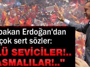 Erdoğan: BDP, Ölüsevici...Nekrofil!.. Bazı yazarlar, tasmalı, (Köpek!)