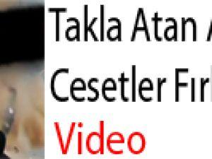 Takla Atan Araçtan Cesetler Fırladı VİDEO (+13)
