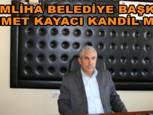 Yemliha Belediye Başkanı Ahmet Kayacı Kandil Mesajı