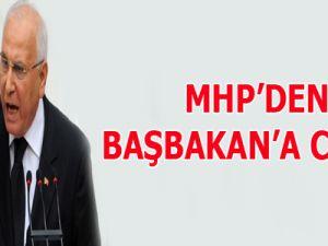 MHP'den Başbakan'a cevap!