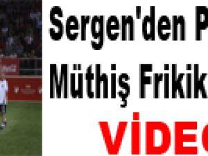 Sergen'den Panzerler'e Müthiş Frikik Golü - Video