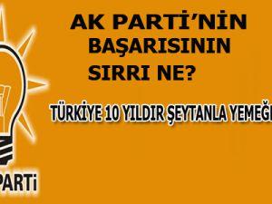 Avcı'ya Göre AK Parti'nin Başarısının Sırrı