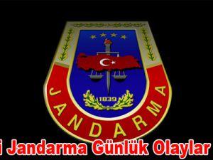 Kayseri Jandama Günlük Olaylar Bülteni