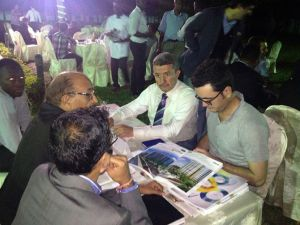 Kınaş İcra Kurulu Başkanı Hamdi Kınaş Tanzanya'yı ziyaret etti