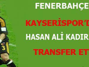 Fenerbahçe Kayserispor'dan Hasan Ali Kaldırım'ı Transfer Etti