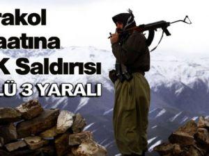 Hakkari'de Karakol İnşaatına PKK Saldırısı 1 Ölü 3 Yaralı