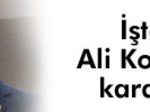 Fenerbahçe'de Ali Koç kararını verdi!