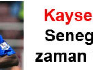 Kayseri'nin Senegallisi zaman istedi!