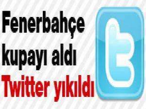 Fenerbahçe kupayı aldı Twitter yıkıldı