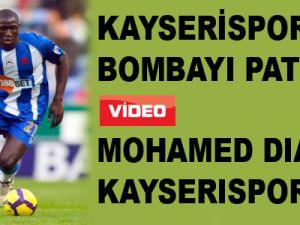 Kayserispor Bombayı Patlattı Mohamed Diame Kayserispor'da - Video