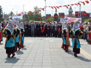 KAYSERİ'DE GENÇLİK HAFTASI KUTLANDI