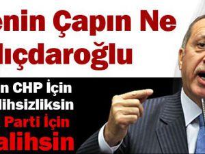 Başbakan Erdoğan'dan Kılıçdaroğluna Çok Sert Sözler Video