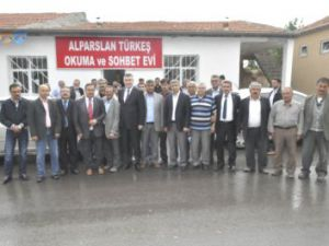 Alparslan Türkeş Okuma ve Sohbet Salonu Açıldı