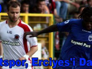 Linyitspor, Erciyes'i Dağıttı!