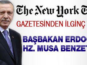 Başbakan Erdoğan'a Hz Musa Benzetmesi