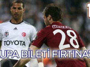 Trabzonspor Avrupa Biletini Kaptı