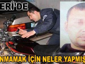 Kayseri'de Yakalanmamak İçin Neler Yapmış Neler!