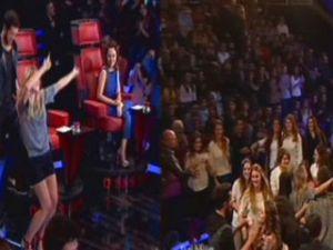 O Ses Türkiye'de seyirciler pisti bastı - VİDEO