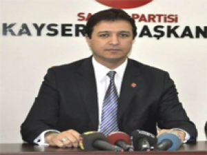 Saadet Partisi İl Başkanı Mahmut Arıkan Açıklaması