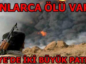 Suriye'de Şiddetli Patlamalar!