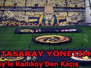 Galatasaray'ın Sikorsky'le Kadıköy'den Kaçış