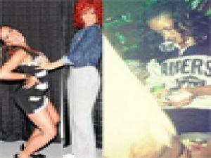 """Rihanna """"Bu kadın bana 'Boynumu, göğüslerimi öp' diyor"""""""