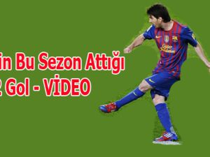 Messi'nin bu sezon attığı 72 gol / VİDEO