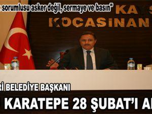 ESKİ KAYSERİ BELEDİYE BAŞKANI ŞÜKRÜ KARATEPE 28 ŞUBAT'I ANLATTI