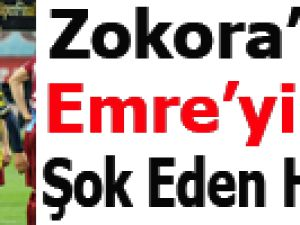 Zokora, Emre'nin elini sıkmadı!