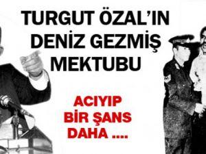 Turgut Özal'dan Deniz Gezmiş Mektubu