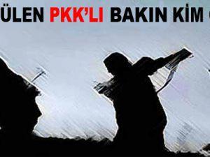 Öldürülen PKK'lı Bakın Kim Çıktı?