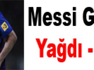 Messi Gol Oldu Yağdı! Video