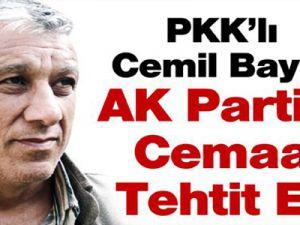Cemil Bayık: 'Silah bırakmayacağız'