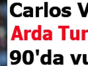Carlos Vela Arda Turan'ı 90'da vurdu video