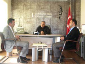 MMO Kayseri Şube Başkanı Hakan Özcan Ve Yönetimi Mimarlar Odası ve Jeoloji Mühendisleri Odasını Ziyaret Etti