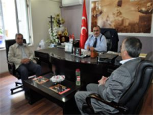 MELİKGAZİ MECLİS ÜYELERİ'NDEN METE EKE'YE ZİYARET