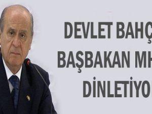 Devlet Bahçeli: Başbakan MHP'yi Dinletiyor