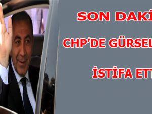 CHP'De Gürsel Tekin İstifa Etti