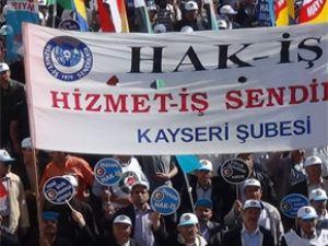 HİZMET-İŞ SENDİKASI 1 MAYIS'I TANDOĞAN'DA KUTLADI