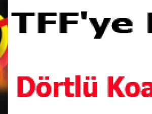 TFF'ye Karşı Dörtlü Koalisyon!