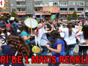 KAYSERİ'DE 1 MAYIS RENKLİ GEÇTİ